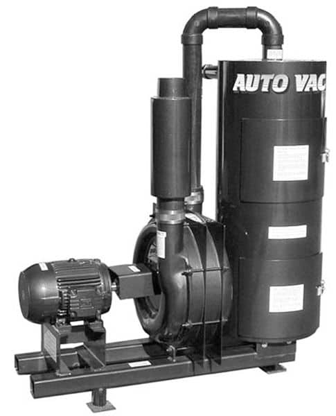 C130-0002, Railvac Jr. Single Phase Vacuum System